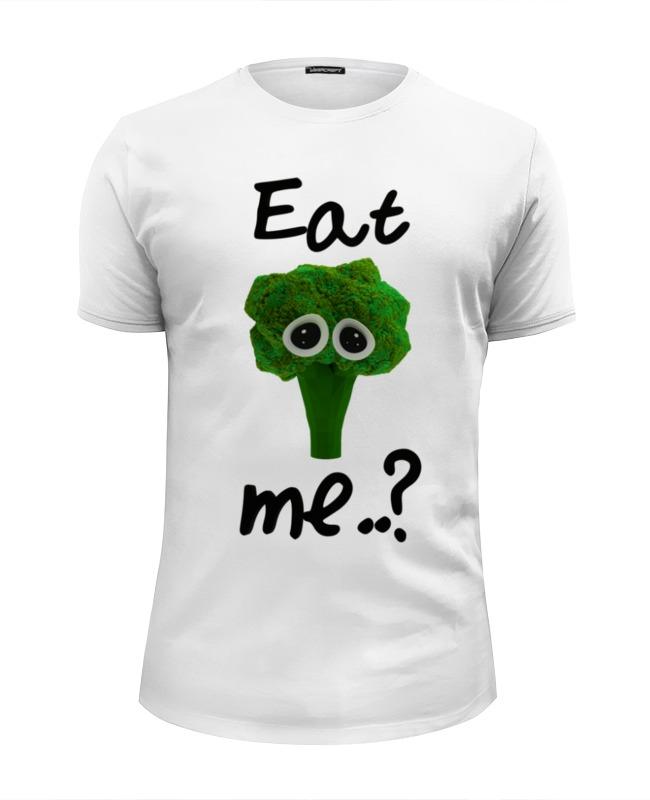 Фото - Футболка Wearcraft Premium Slim Fit Printio Eat me..? футболка рингер printio do nut eat me не ешь меня