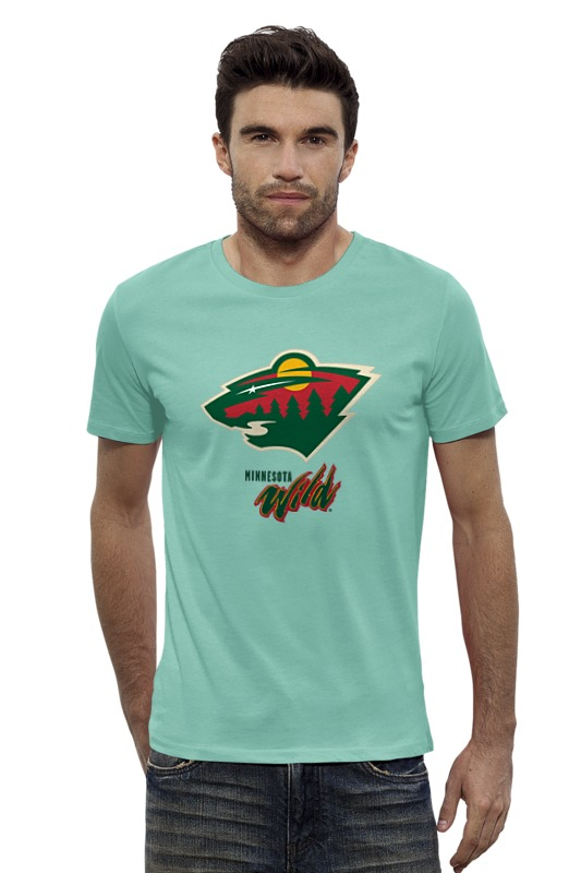 Футболка Wearcraft Premium Slim Fit Printio Minnesota wild / nhl usa футболка wearcraft premium slim fit printio fender usa