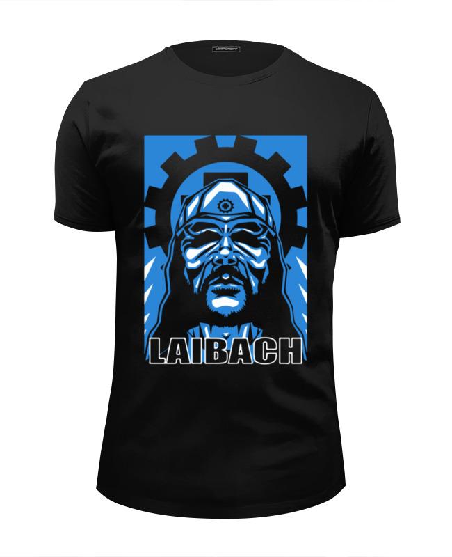 Футболка Wearcraft Premium Slim Fit Printio Laibach / milan fras футболка классическая printio laibach drummer boy