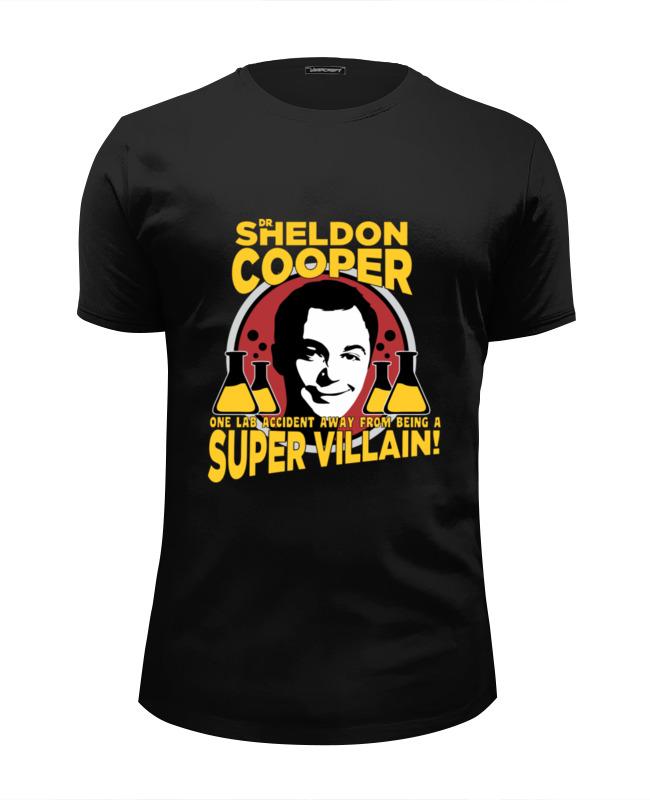 Футболка Wearcraft Premium Slim Fit Printio Sheldon cooper (шелдон купер) футболка wearcraft premium slim fit printio sheldon bazinga