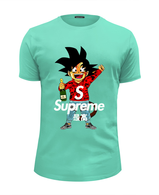 где купить Футболка Wearcraft Premium Slim Fit Printio Goku sup по лучшей цене