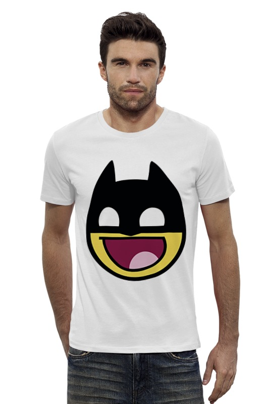 Футболка Wearcraft Premium Slim Fit Printio Бетмэн ( batman ) футболка wearcraft premium slim fit printio batman beyond