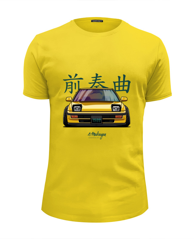 Футболка Wearcraft Premium Slim Fit Printio Honda prelude