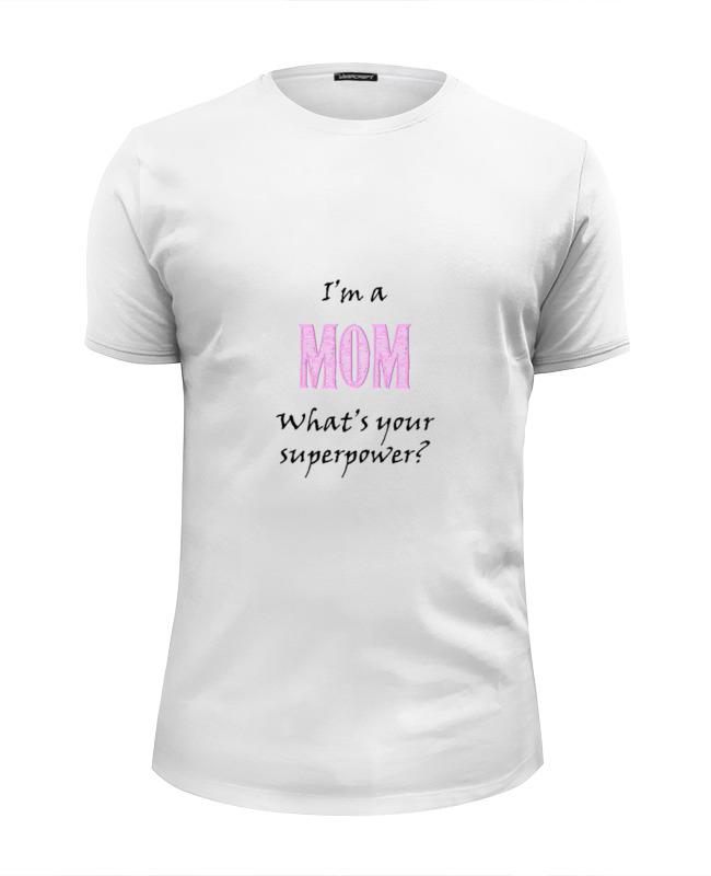 Фото - Футболка Wearcraft Premium Slim Fit Printio Я мама футболка wearcraft premium slim fit printio я всё могу потому что я мама