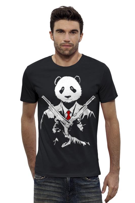 Футболка Wearcraft Premium Slim Fit Printio Панда киллер футболка стрэйч printio том и джери