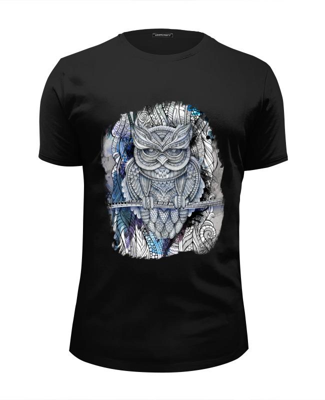 Футболка Wearcraft Premium Slim Fit Printio Doodle owl футболка wearcraft premium slim fit printio doodle owl