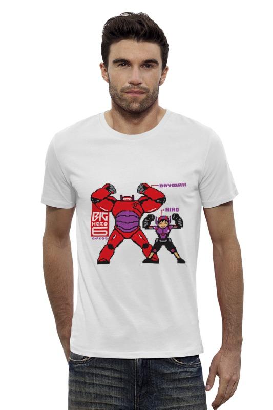 Футболка Wearcraft Premium Slim Fit Printio Баймакс (город героев) футболка wearcraft premium slim fit printio баймакс город героев