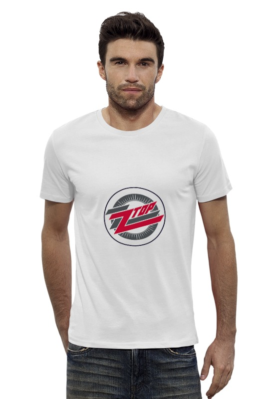Футболка Wearcraft Premium Slim Fit Printio zz top футболка asics футболка layering top