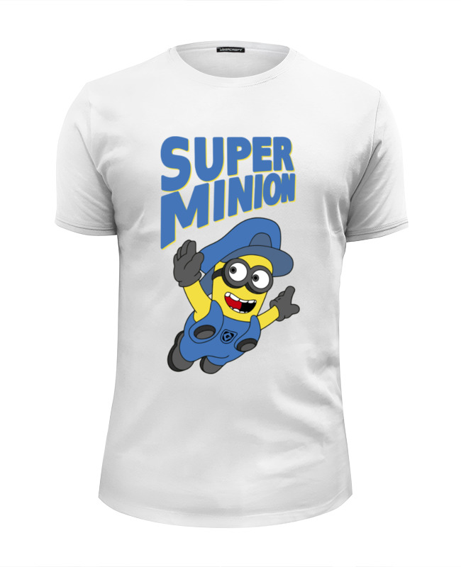 Футболка Wearcraft Premium Slim Fit Printio Super minion футболка print bar super minion