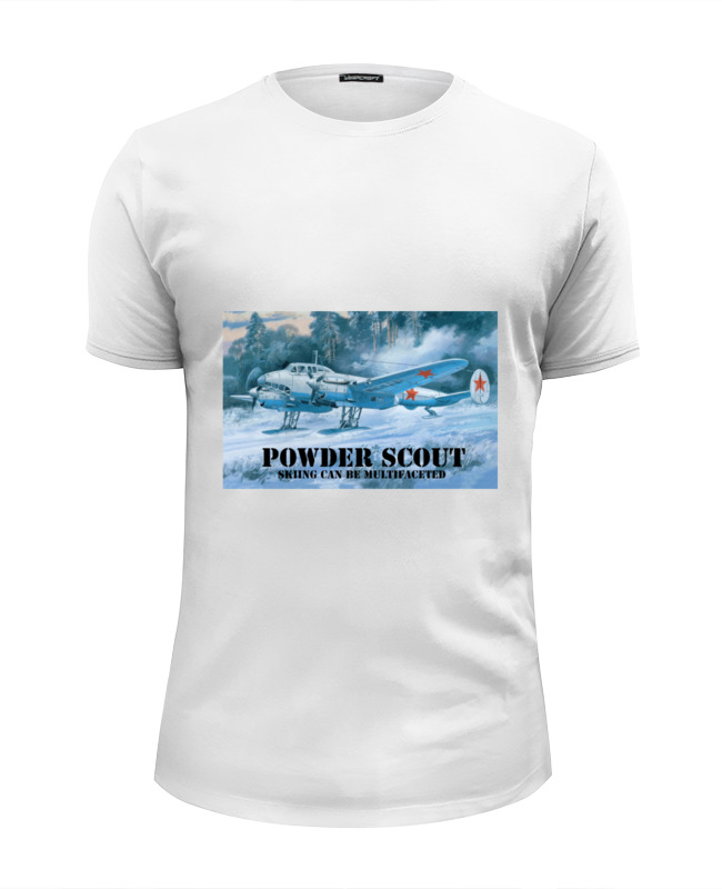 Футболка Wearcraft Premium Slim Fit Printio Powder scout футболка wearcraft premium printio powder scout