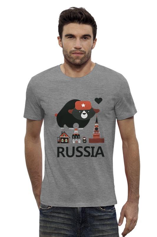Футболка Wearcraft Premium Slim Fit Printio Россия (russia) футболка wearcraft premium slim fit printio россия украина