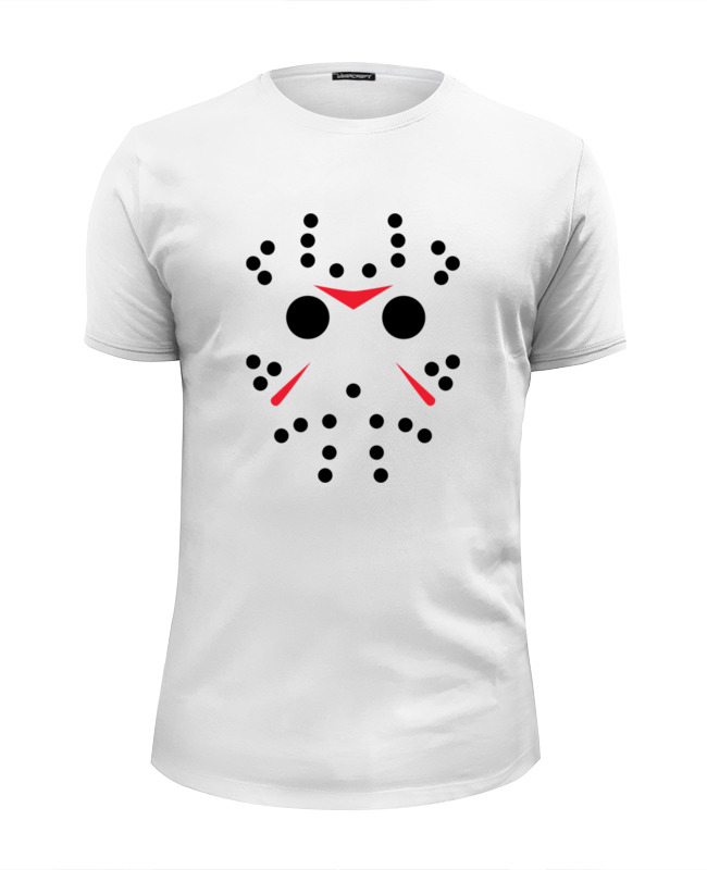 Футболка Wearcraft Premium Slim Fit Printio Джейсон вурхиз (пятница 13) футболка wearcraft premium printio джейсон вурхиз пятница 13