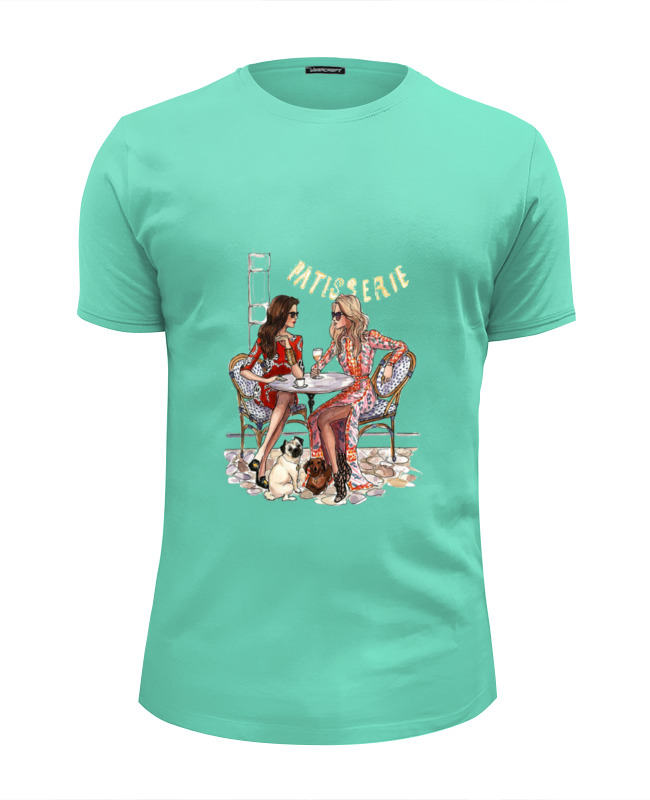 Футболка Wearcraft Premium Slim Fit Printio Девушки футболка wearcraft premium printio девушки