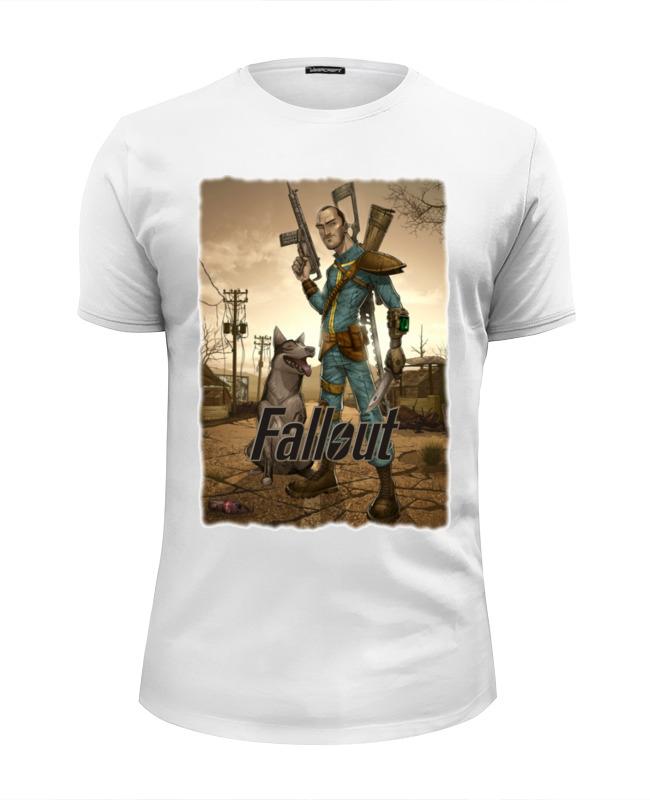 Футболка Wearcraft Premium Slim Fit Printio Fallout game футболка wearcraft premium printio fallout