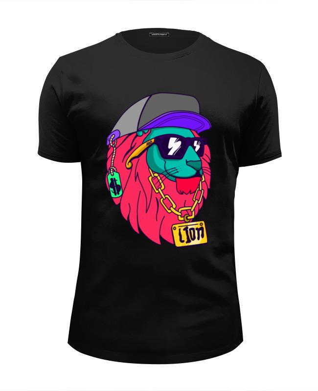 Футболка Wearcraft Premium Slim Fit Printio Король футболка wearcraft premium slim fit printio король лев