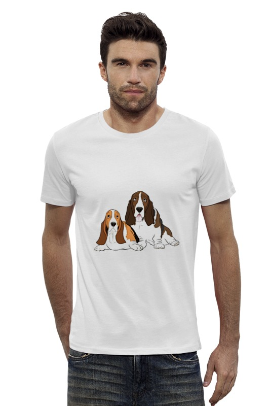 Футболка Wearcraft Premium Slim Fit Printio Собаки футболка wearcraft premium slim fit printio шахматиста