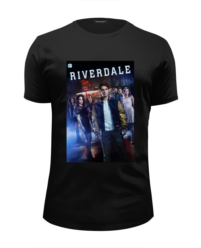 Футболка Wearcraft Premium Slim Fit Printio Riverdale (ривердейл) поло print bar riverdale