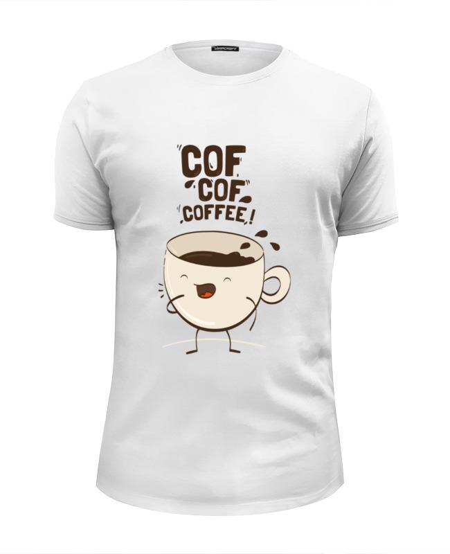 Футболка Wearcraft Premium Slim Fit Printio Чашка кофе цена