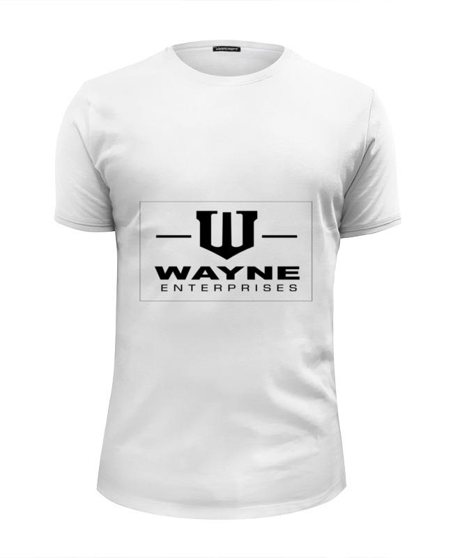Футболка Wearcraft Premium Slim Fit Printio Wayne enterprises футболка рингер printio wayne enterprises
