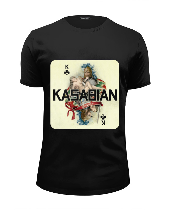 Printio Kasabian - empire футболка wearcraft premium slim fit printio я русский russian empire