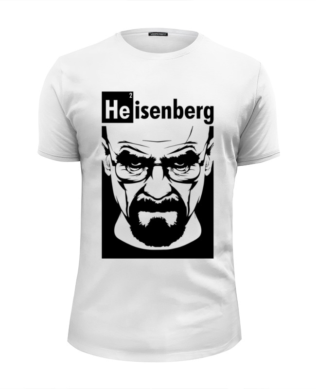 Футболка Wearcraft Premium Slim Fit Printio Heisenberg (breaking bad) футболка wearcraft premium printio breaking bad во все тяжкие heisenberg