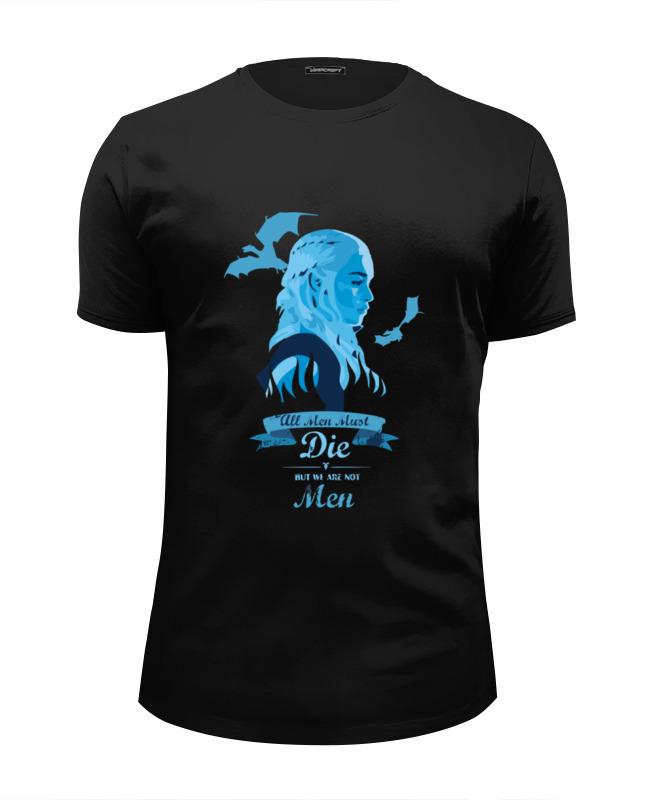 Футболка Wearcraft Premium Slim Fit Printio Khaleesi (game of thrones) футболка wearcraft premium slim fit printio obey khaleesi game of thrones