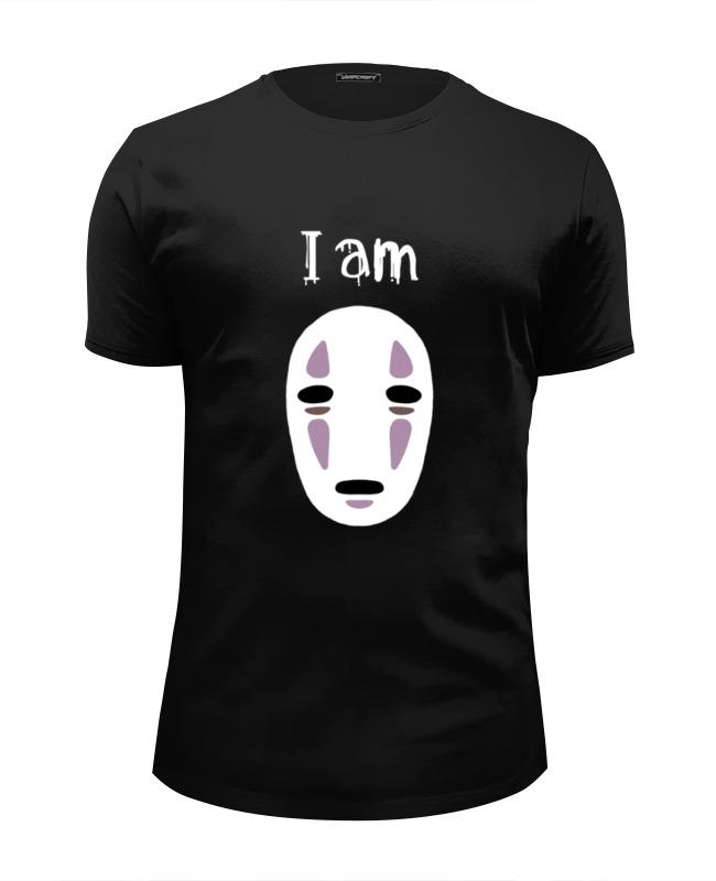 Футболка Wearcraft Premium Slim Fit Printio Я безликий футболка классическая printio каонаси
