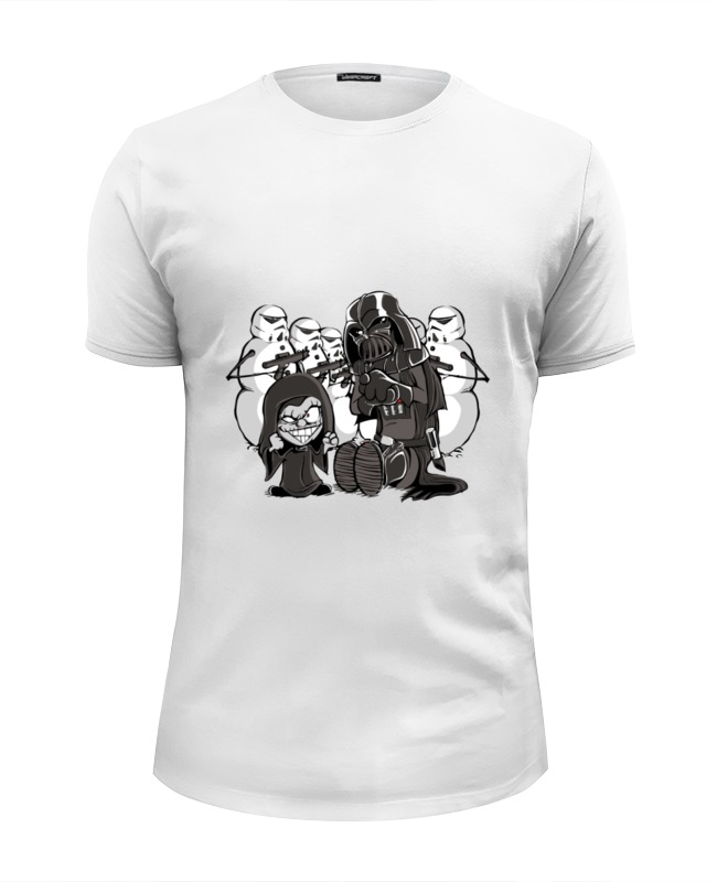 Футболка Wearcraft Premium Slim Fit Printio Звездные войны (star wars) футболка wearcraft premium slim fit printio i love star wars