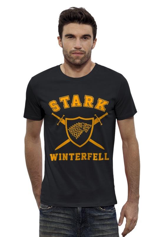 Футболка Wearcraft Premium Slim Fit Printio Старки (starks) футболка wearcraft premium printio игра престолов