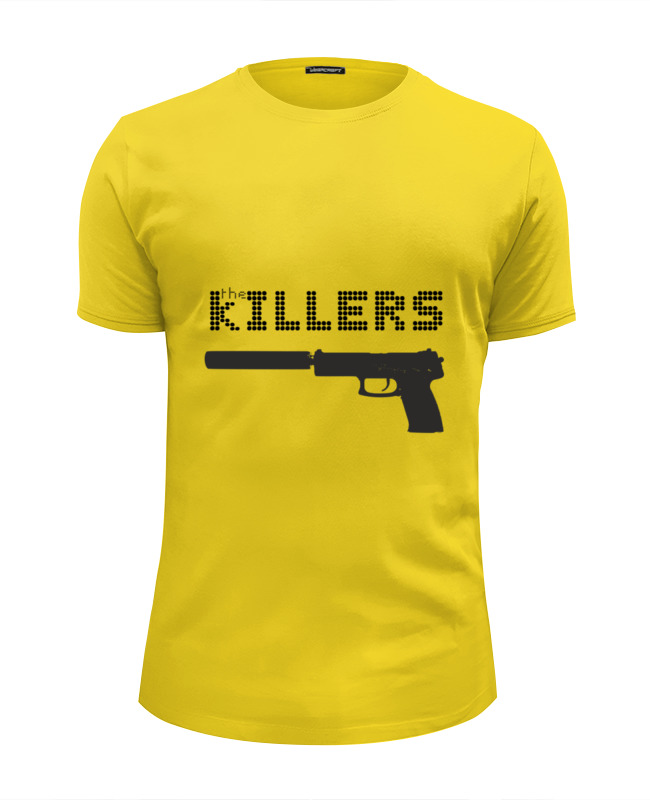 Фото - Футболка Wearcraft Premium Slim Fit Printio The killers лонгслив printio the killers