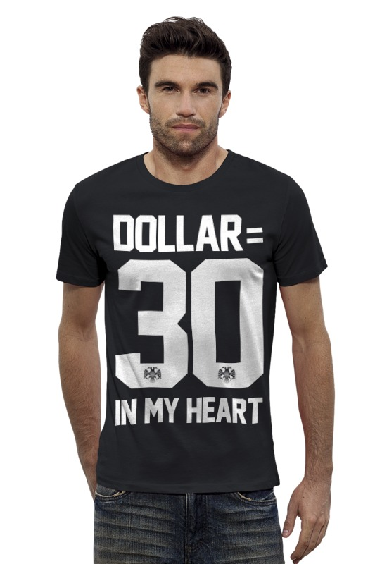 Футболка Wearcraft Premium Slim Fit Printio Dollar 30 by design minitry футболка wearcraft premium slim fit printio lada седан by design ministry