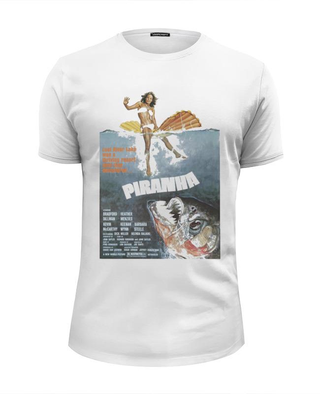Футболка Wearcraft Premium Slim Fit Printio Piranha / пираньи