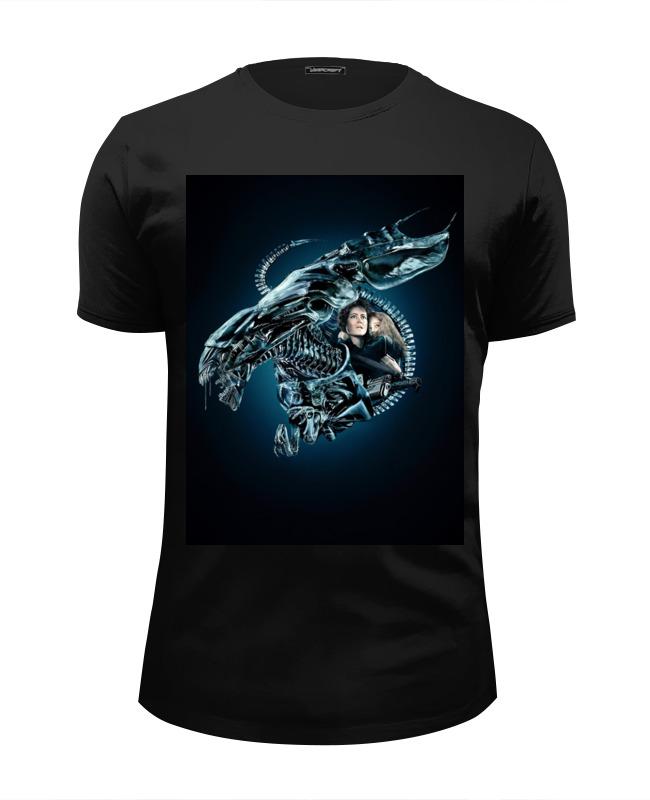 Printio Чужой футболка wearcraft premium slim fit printio walkman