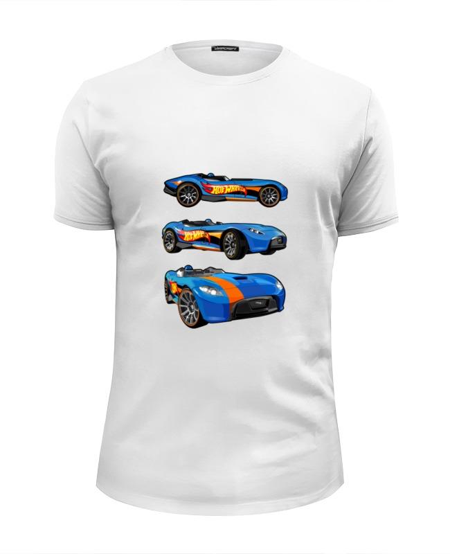 Футболка Wearcraft Premium Slim Fit Printio Гоночные машины