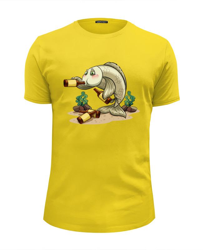 Футболка Wearcraft Premium Slim Fit Printio Пьяный окунь футболка wearcraft premium slim fit printio окунь