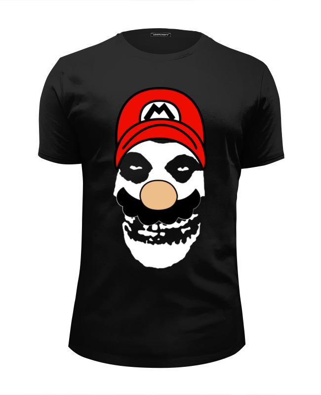 цена на Футболка Wearcraft Premium Slim Fit Printio Mario x misfits