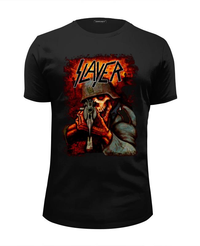 Printio Slayer band футболка wearcraft premium slim fit printio slayer thrash metal band