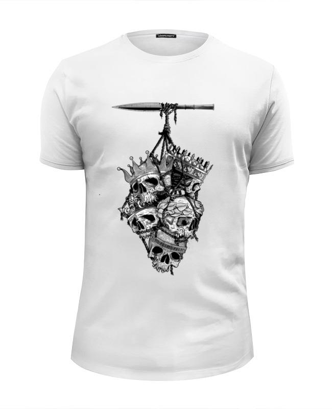 Футболка Wearcraft Premium Slim Fit Printio Король королей футболка wearcraft premium slim fit printio король севера