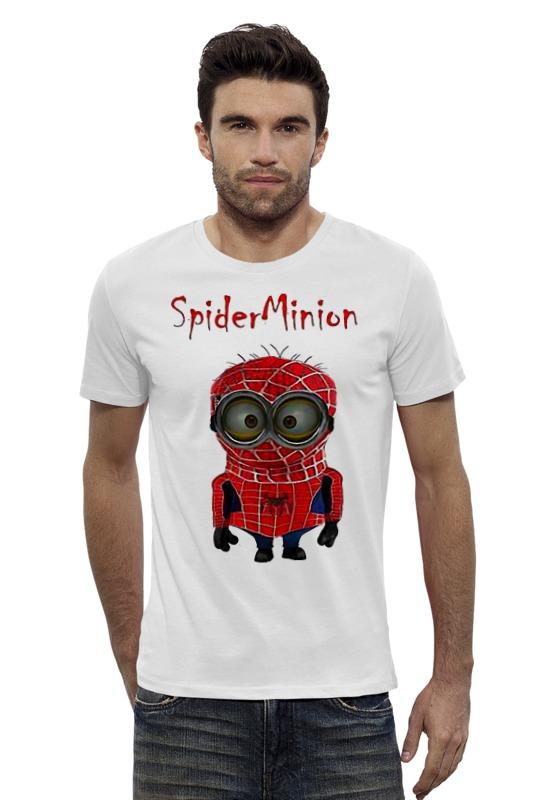 Футболка Wearcraft Premium Slim Fit Printio Spider minion лонгслив printio spider minion