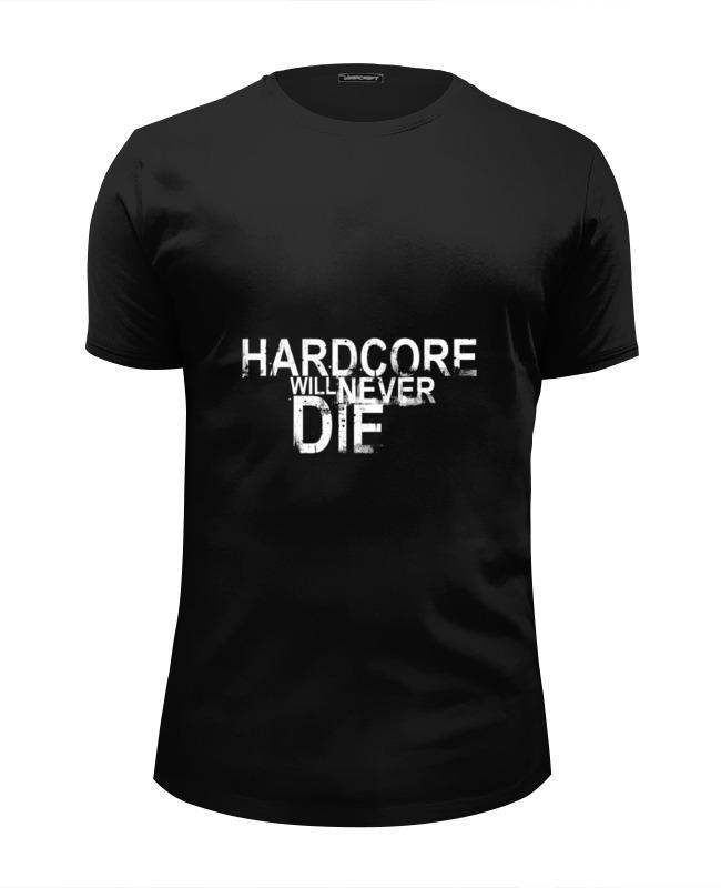 Футболка Wearcraft Premium Slim Fit Printio Hardcore yo zuri hardcore surface crank
