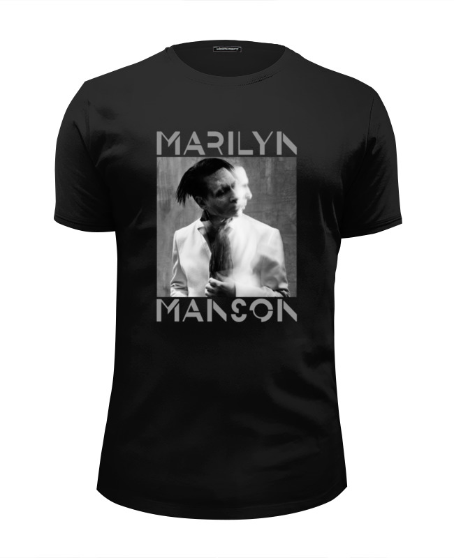 Футболка Wearcraft Premium Slim Fit Printio Marilyn manson футболка wearcraft premium slim fit printio stylish colors