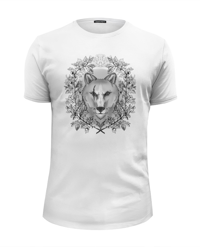 Футболка Wearcraft Premium Slim Fit Printio Тотем волк футболка wearcraft premium printio китайский дракон