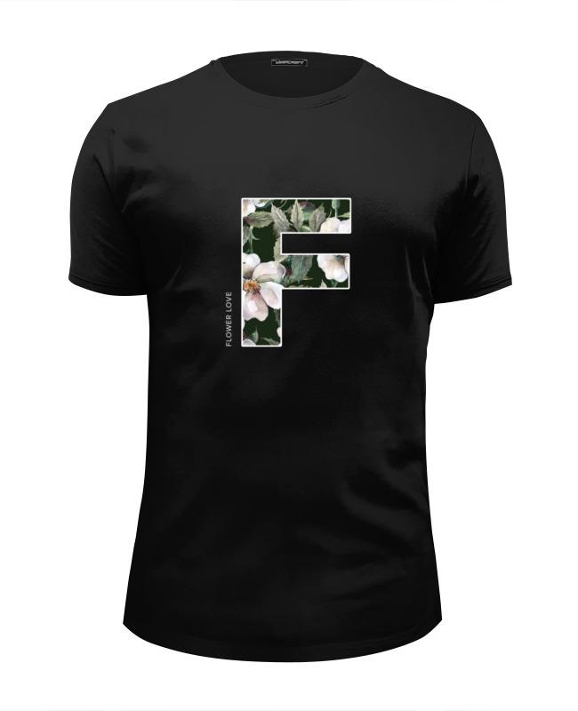 Футболка Wearcraft Premium Slim Fit Printio Цветочная любовь (flower love) redfox футболка flower t 42 4300 желтый