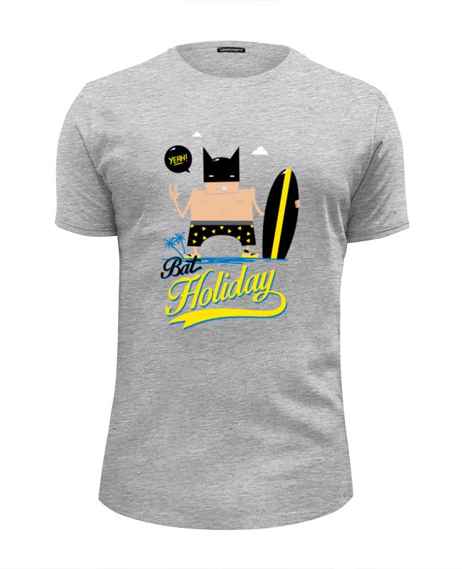 Футболка Wearcraft Premium Slim Fit Printio Бэтмен на море футболка wearcraft premium slim fit printio хочу на море
