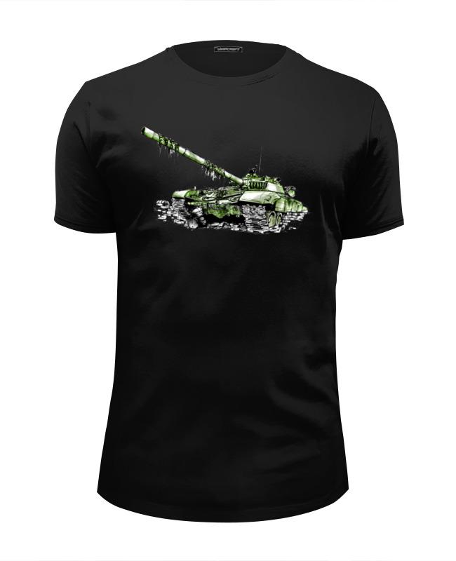 Футболка Wearcraft Premium Slim Fit Printio Т-72 (танк) цены