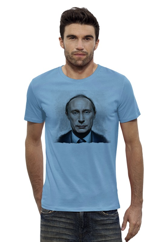 Футболка Wearcraft Premium Slim Fit Printio Putin футболка wearcraft premium slim fit printio голубой морской кит кашалот