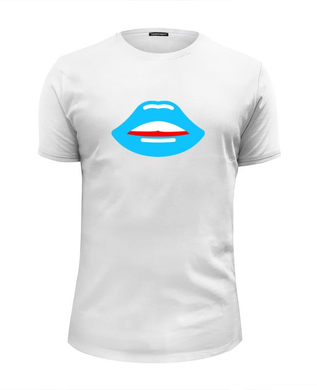 Футболка Wearcraft Premium Slim Fit Printio Губы (поцелуй)