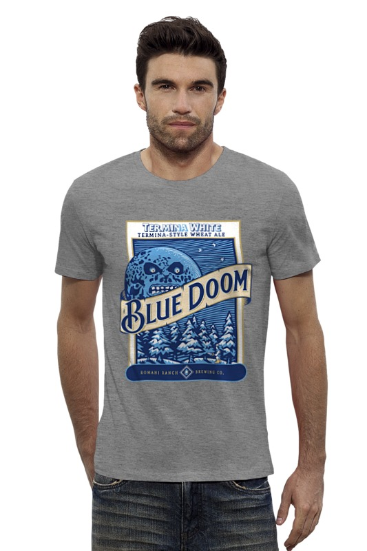 Футболка Wearcraft Premium Slim Fit Printio Blue doom (the legenda of zelda) legenda comfort 735