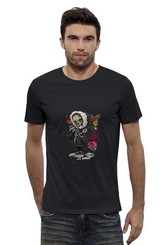 Футболка Wearcraft Premium Slim Fit Printio Скелет футболка wearcraft premium slim fit printio скелет мамонта