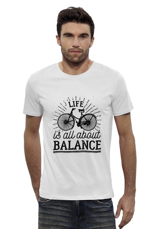 Футболка Wearcraft Premium Slim Fit Printio Life is all about balance! смеситель для ванны ex promt simple ex 132 4 04